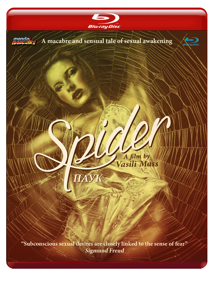 Image of SPIDER - Red Case Limited Edition Blu-ray