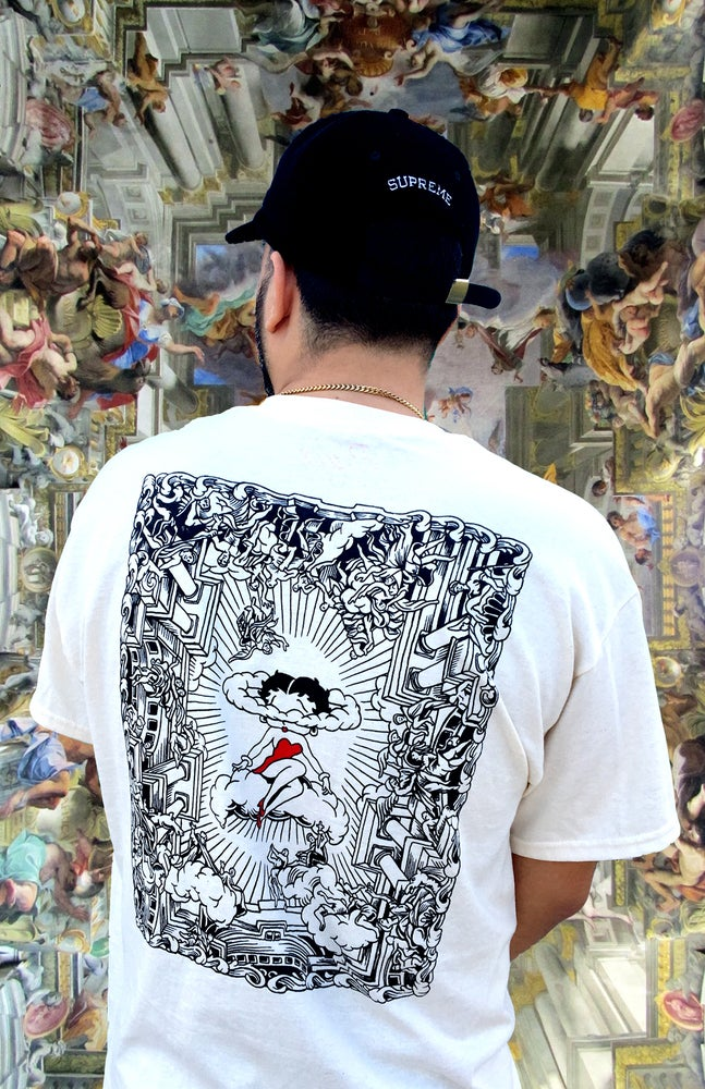 Image of Off white Betty Boop