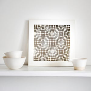Image of Geometric Pattern Scene