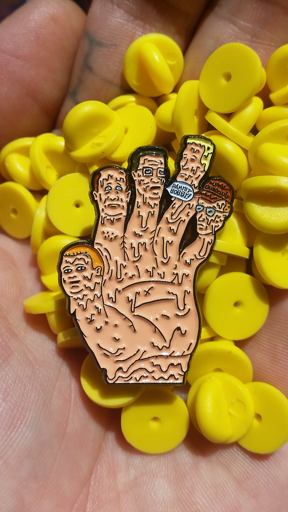 Image of 5 FINGER KOTH 1.5 INCH PIN
