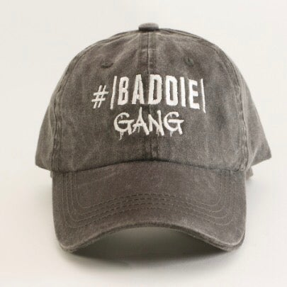 Image of Baddie Gang - Dad Hat LAST IN STOCK