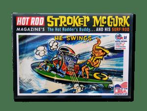 "The Stroker McGurk ""Surf Rod"" Model Kit"