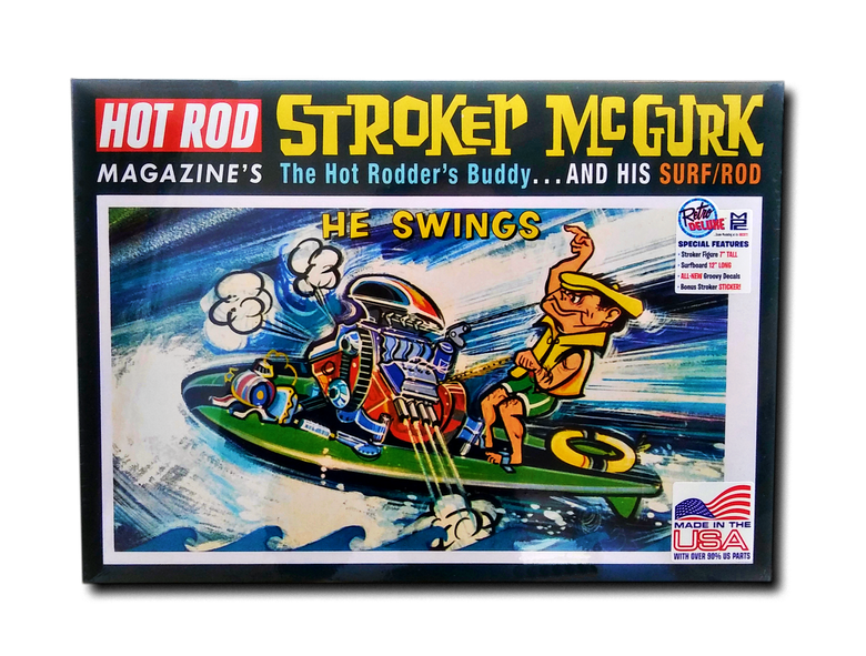 "Image of The Stroker McGurk ""Surf Rod"" Model Kit"