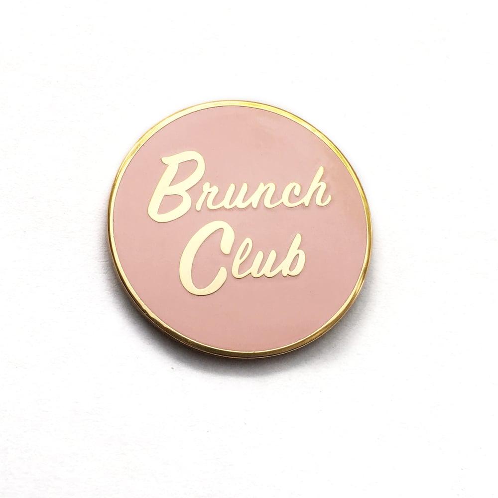 Image of Brunch Club Enamel Pin