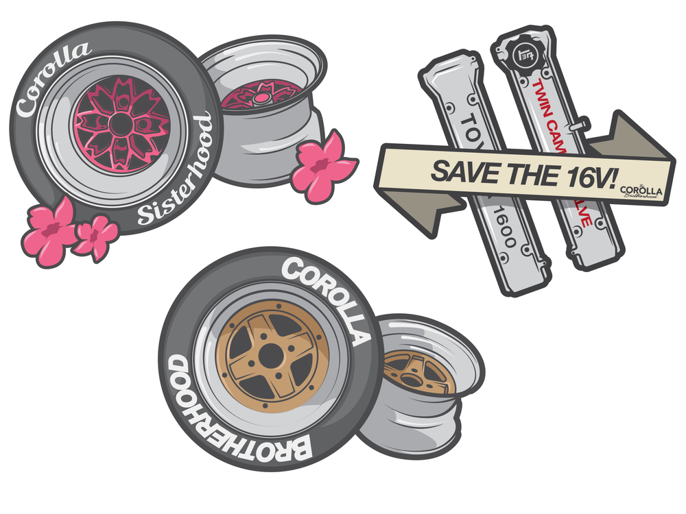 Image of Printed stickers