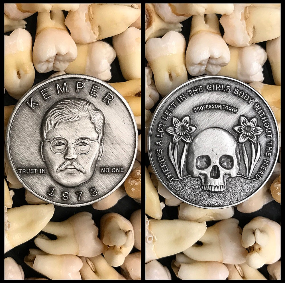 Image of Serial Killer Edmund Kemper Coin