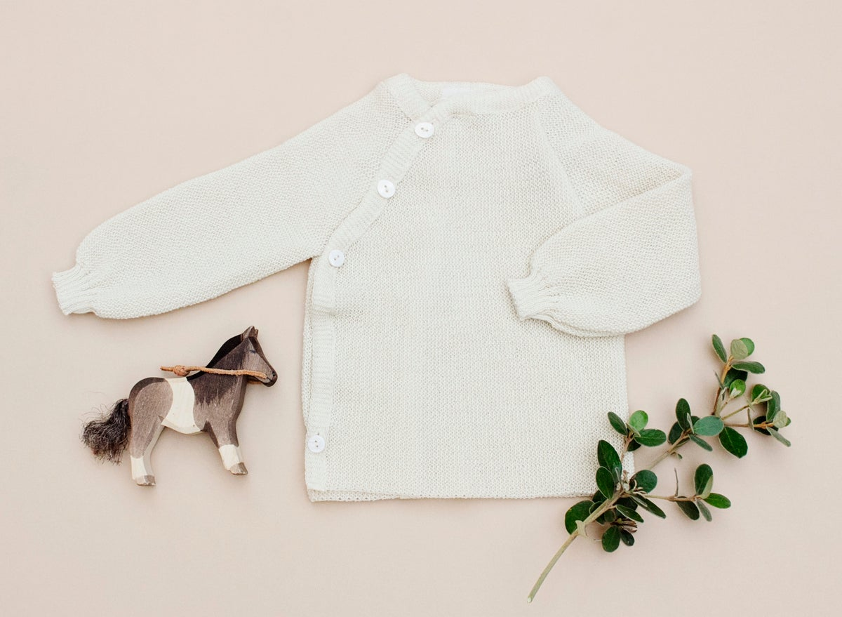 Image of Baby Reiff merino wool sweater
