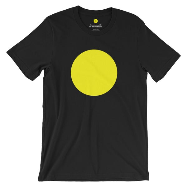 Image of Plain Yellow Circle