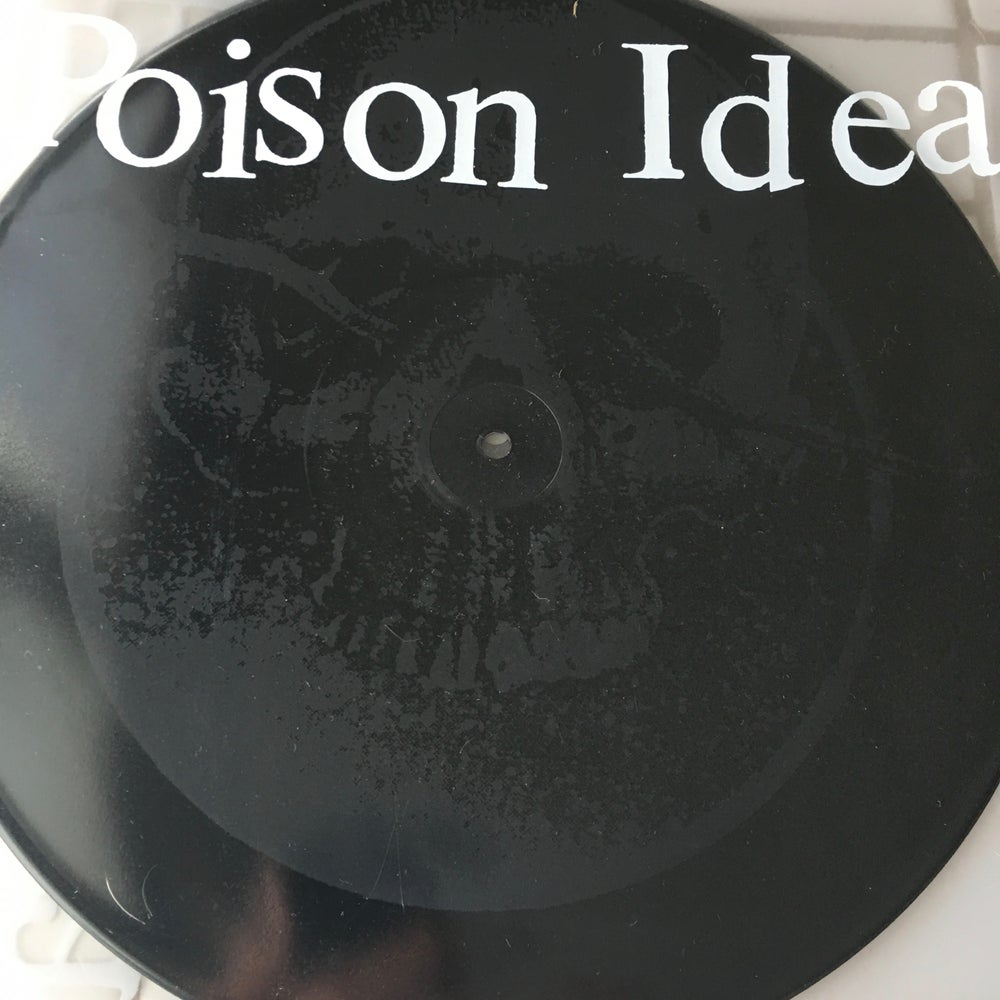 "Image of Poison Idea-""Calling All Ghosts"" 12"" ep with etching 2016"