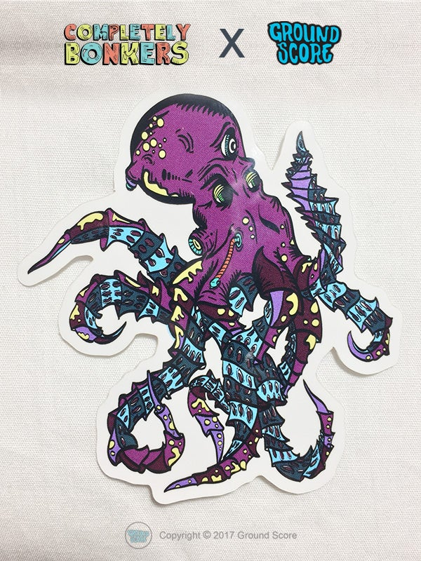 Image of Completely Bonkers - Octopod Sticker Pack