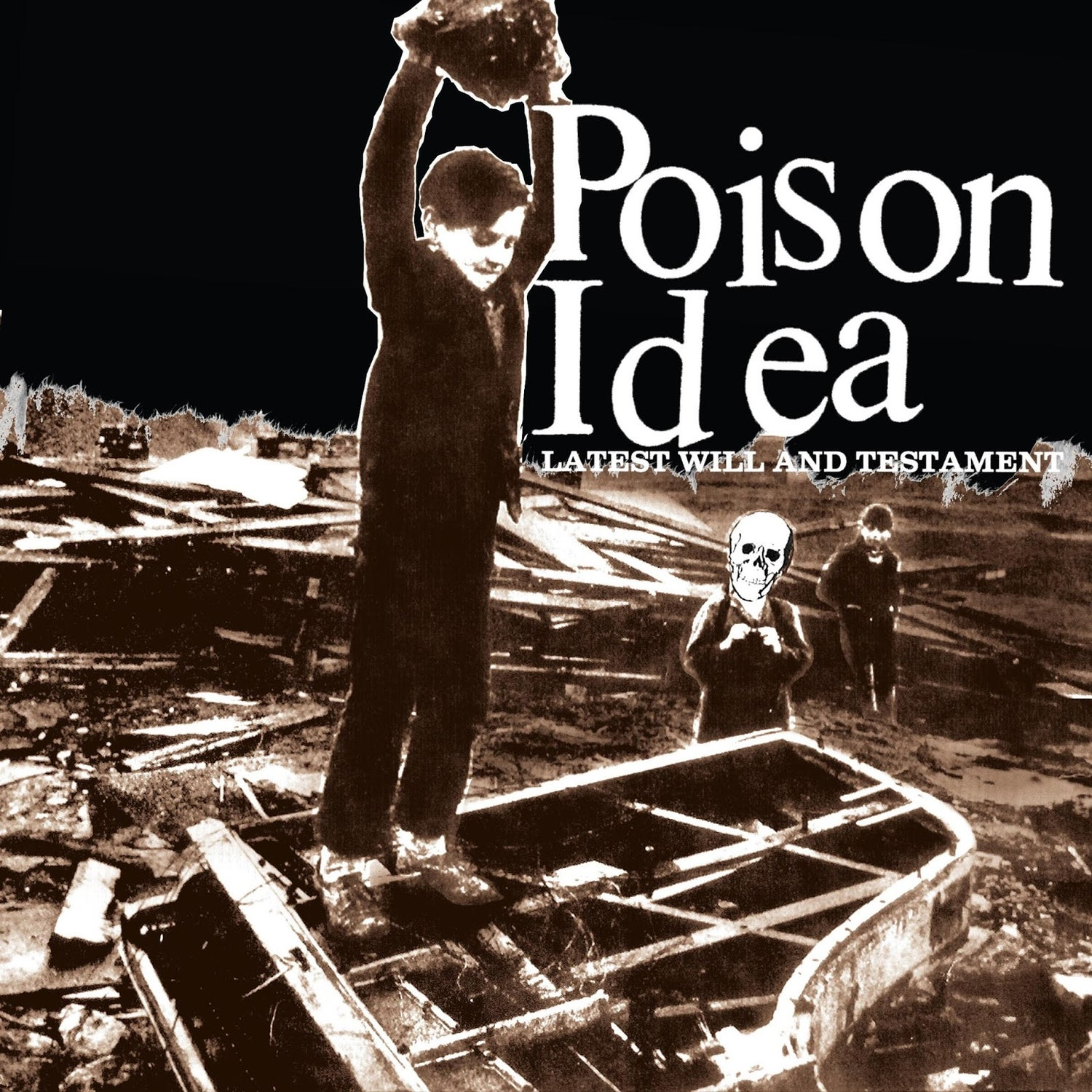 "Image of Poison Idea-""Latest Will and Testament"" 10yr Anniversary Reissue/Remastered/Remixed"