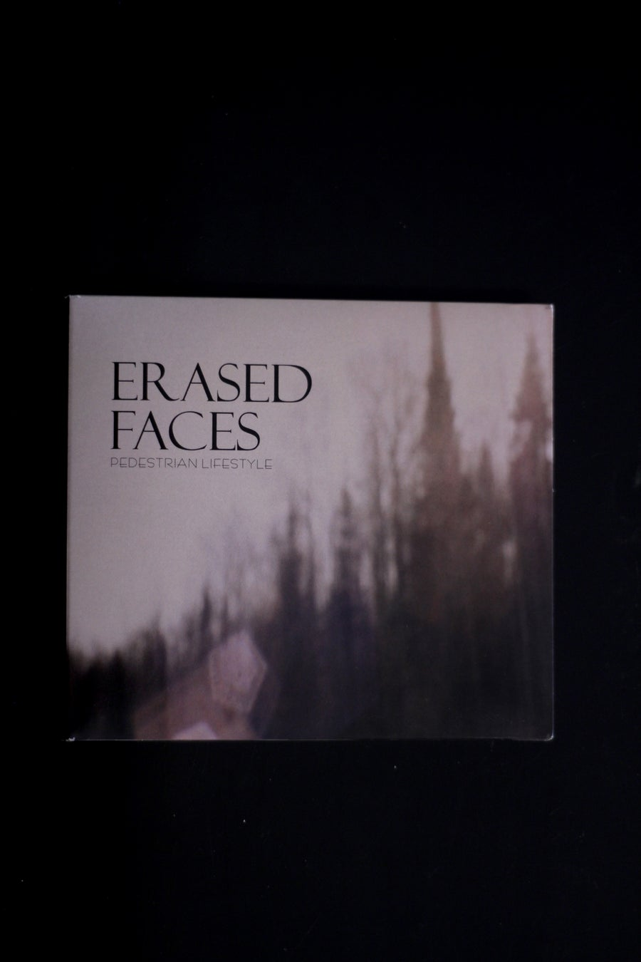 Image of ERASED FACES CD