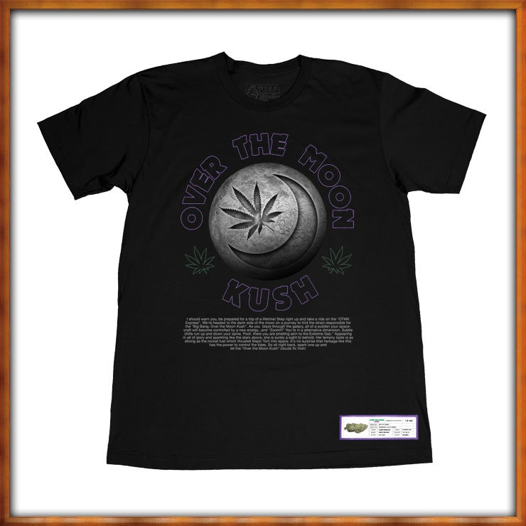 Image of Over the Moon Kush Original Tree Shurt
