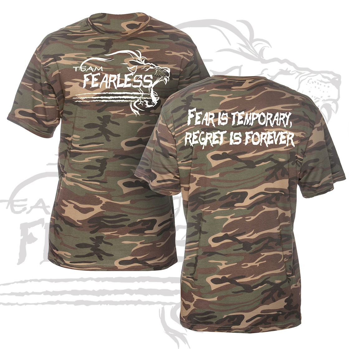 Image of TEAM FEARLESS 2017 BOOTCAMP T