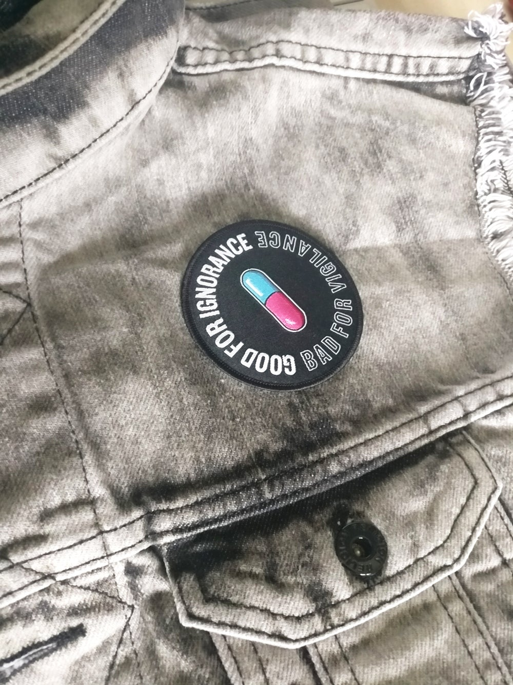 Image of 'CYBERPUNK' Embroidered Patch