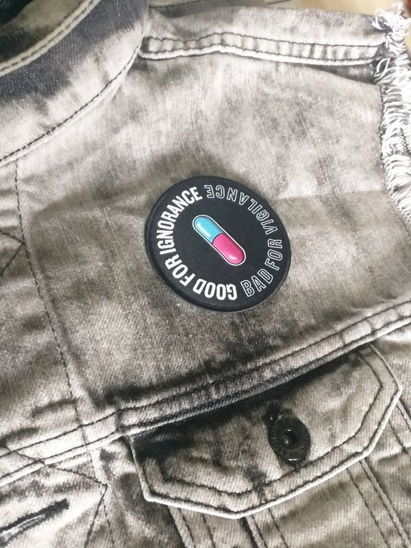 'CYBERPUNK' Embroidered Patch - Moore Vigilance