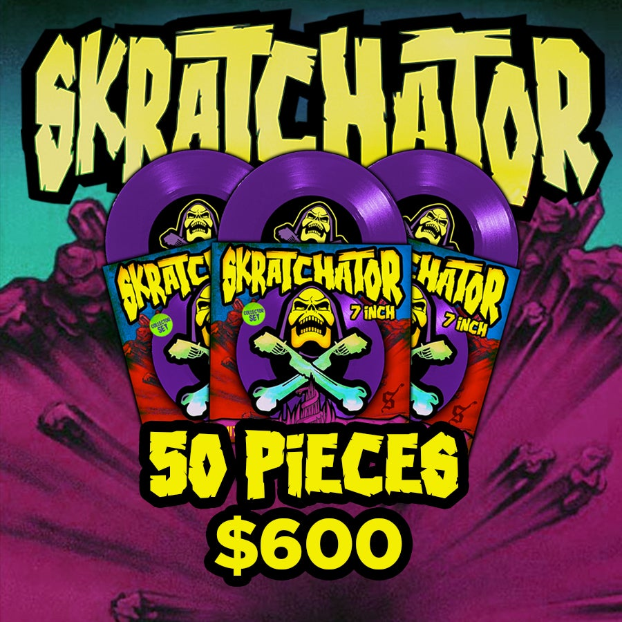 Image of Skratchator 50 PCS