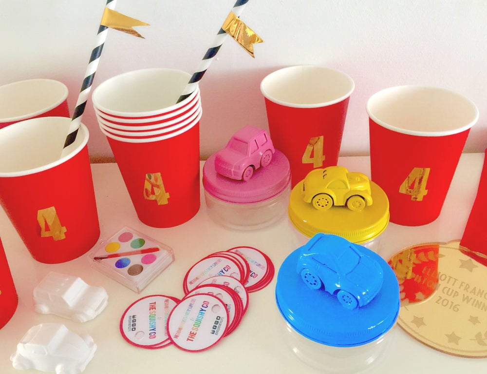 Image of Personalised party cups