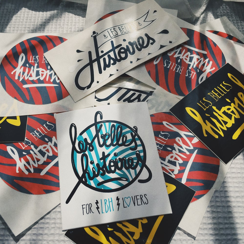 Image of LBH 5 STICKERS PACK