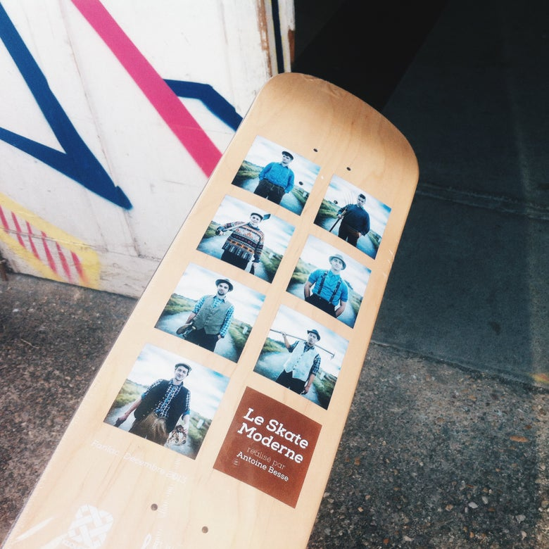 Image of SKATE MODERNE - LIMITED & COLLECTOR - Deck