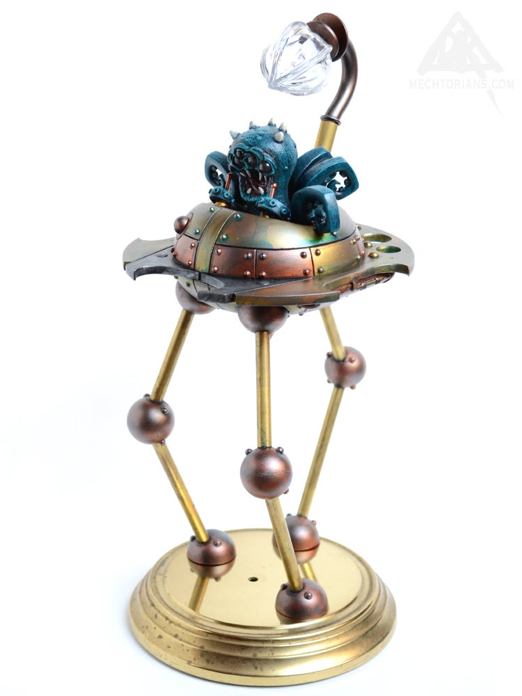 "Image of ""One Million to One"" - Unique Mechtorian Figure (Martian Tripod) (FREE SHIPPING)"