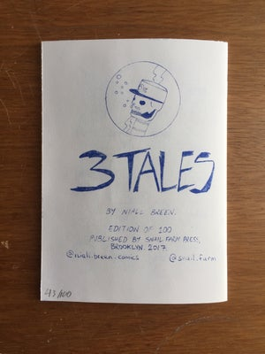 Image of 3 Tales by Niall Breen