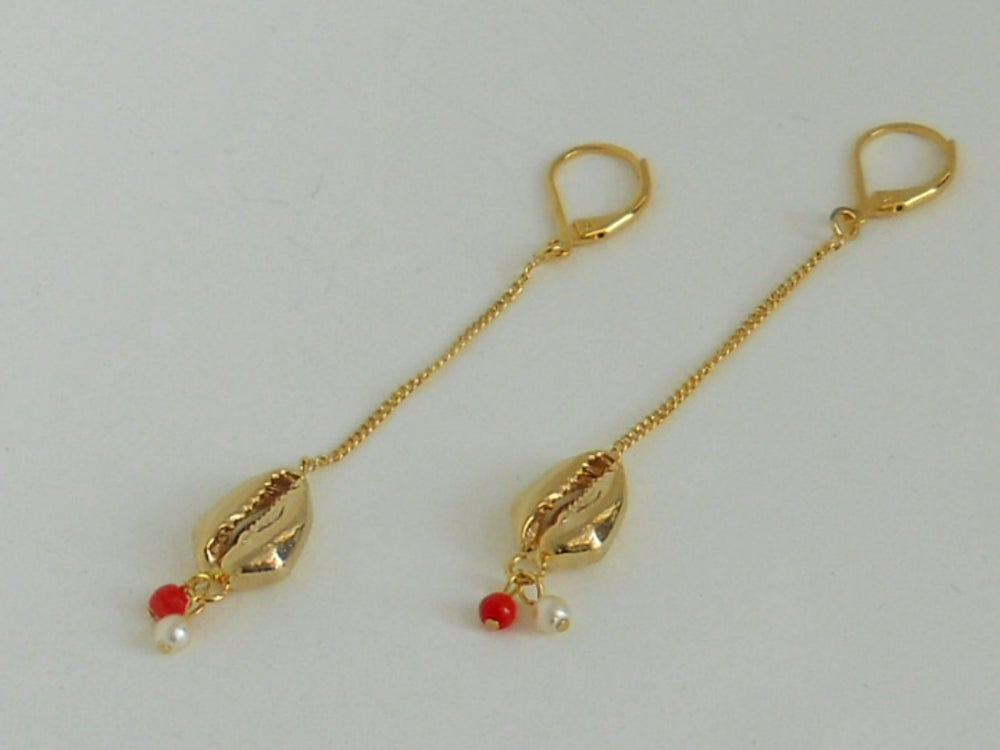 Image of COQUILLAGE - Boucles d'oreilles
