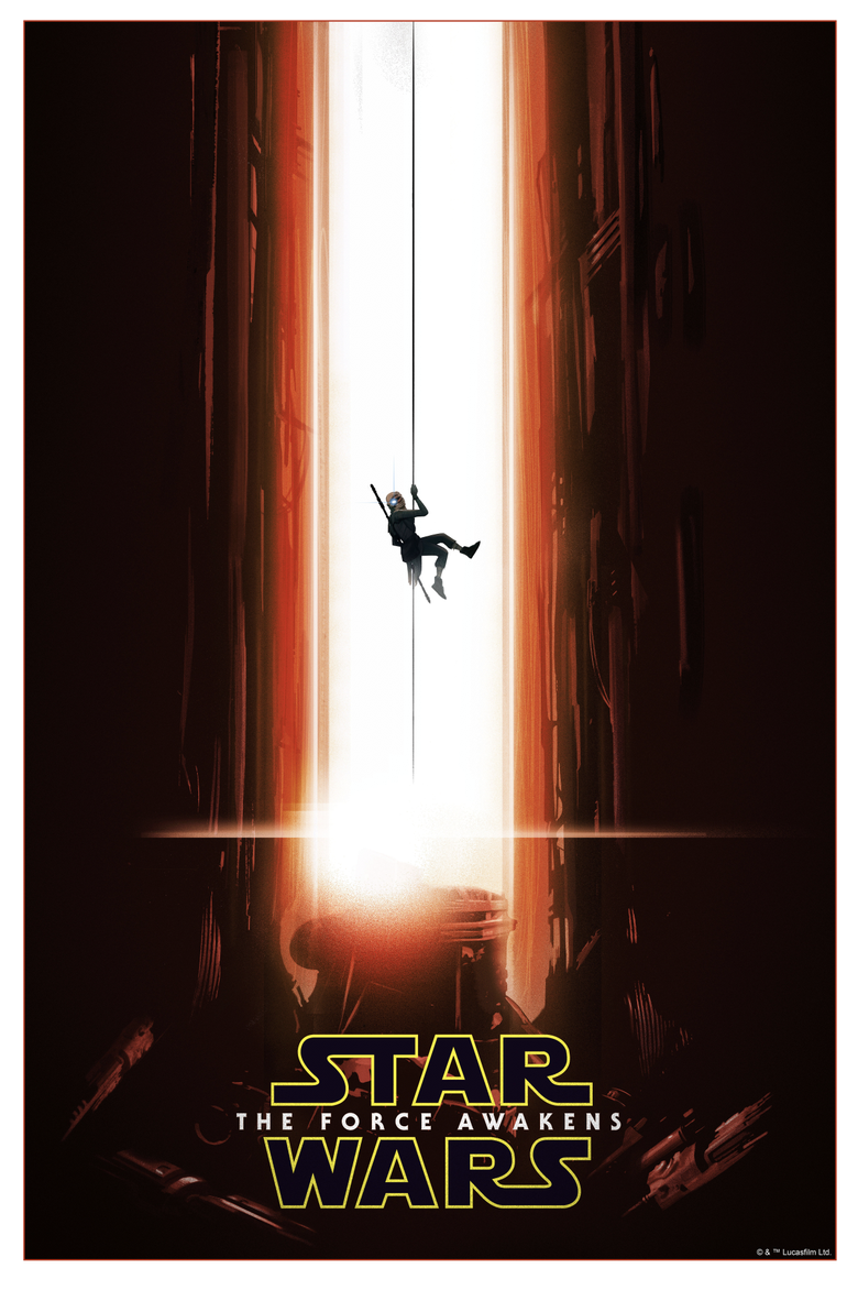 Image of STAR WARS: THE FORCE AWAKENS variant edition