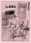 """Image of Davide Toffolo - """"Il Giro"""" / Serigrafia tiratura limitata"""