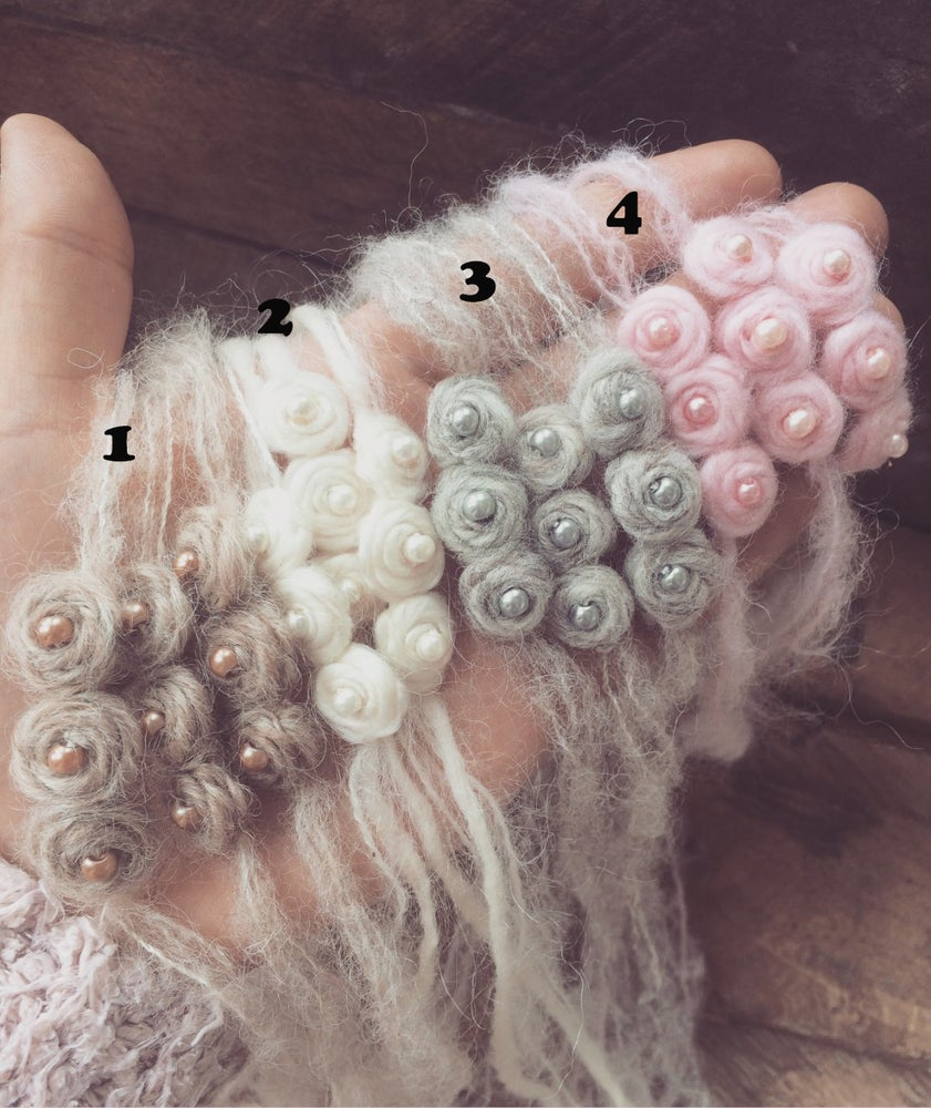 Image of Trio of Wooly Flowers