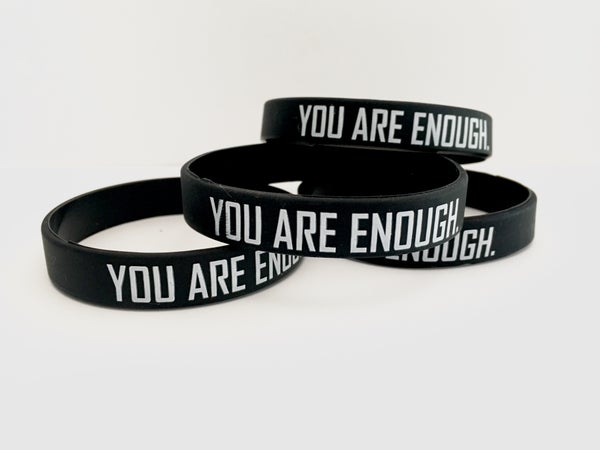 Image of YOU ARE ENOUGH. | Daily Reminder Bracelets | FREE U.S. SHIPPING