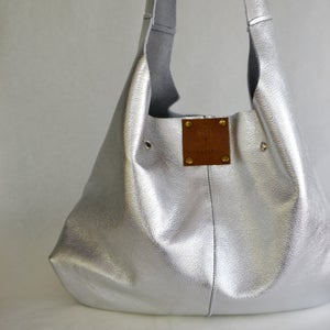 Image of softest silver slouch