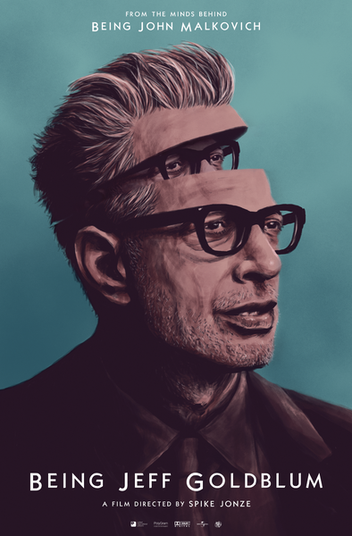 Image of Being Jeff Goldblum Poster