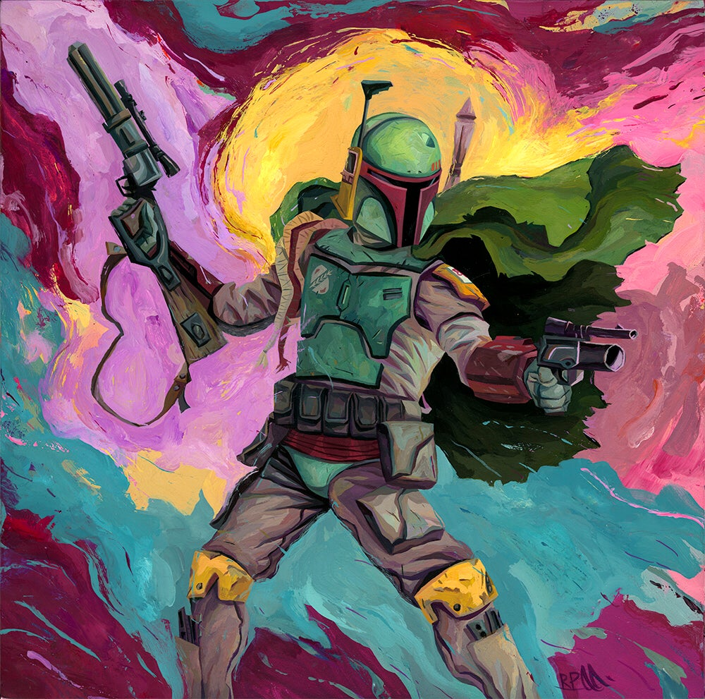 Image of Boba Fett Artist Proof