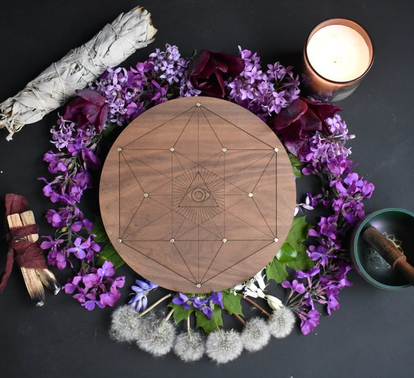 Image of Beltane Blessed Grid of Ajna