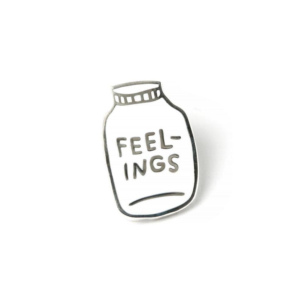 Image of FEELINGS Enamel Pin
