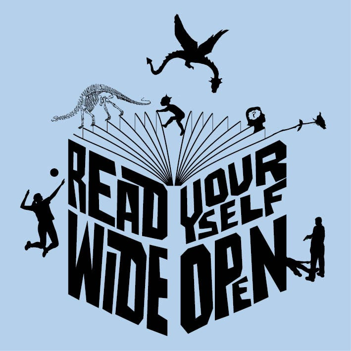 Image of Read yourself wide open - womens