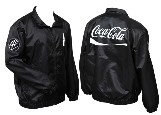 Image of Coca Cola windbreaker