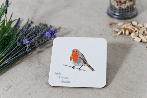 Image of Dickie Bird Melamine Coasters