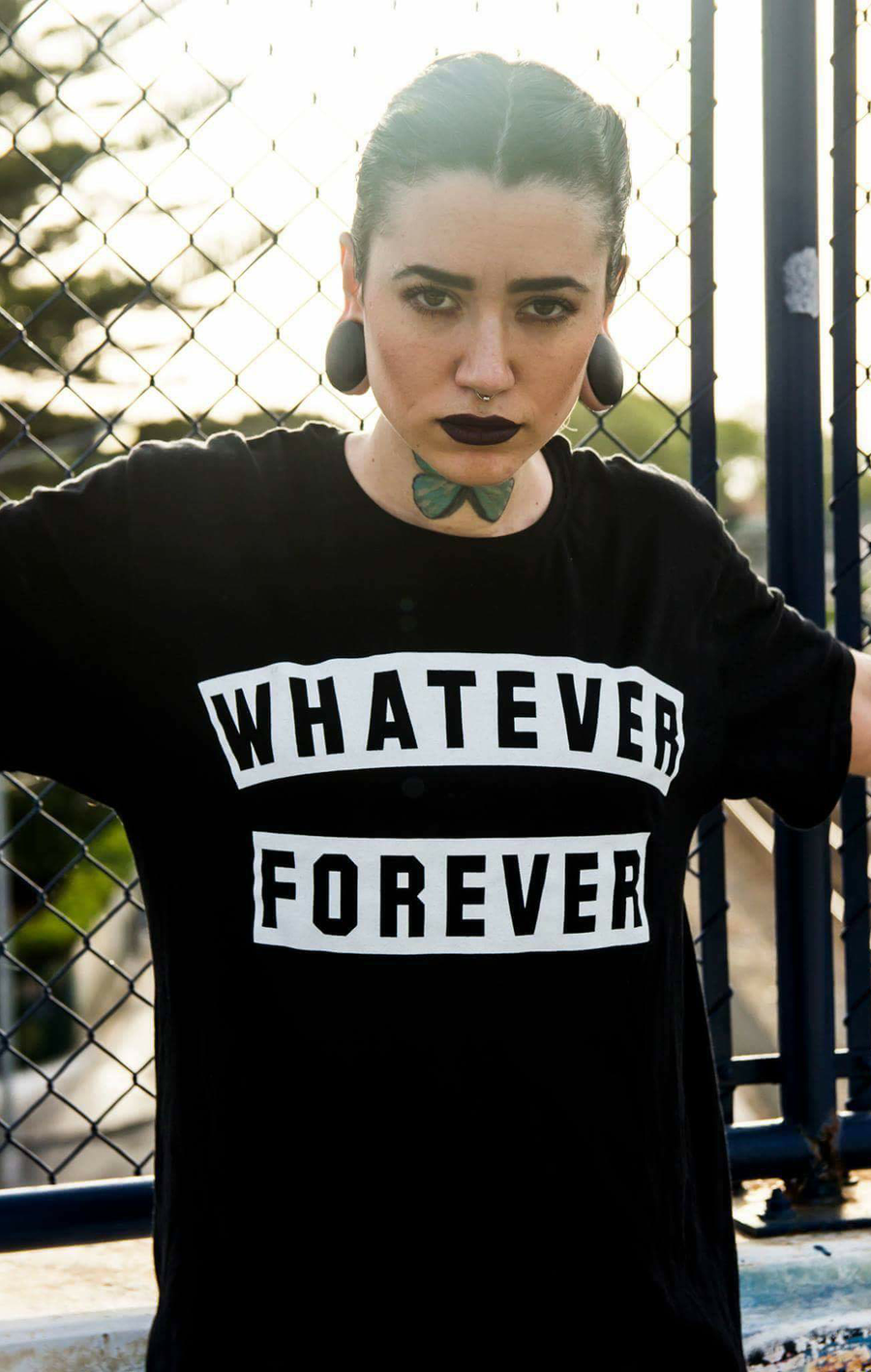 Image of WHATEVER FOREVER - Long Tee ♀ ♂