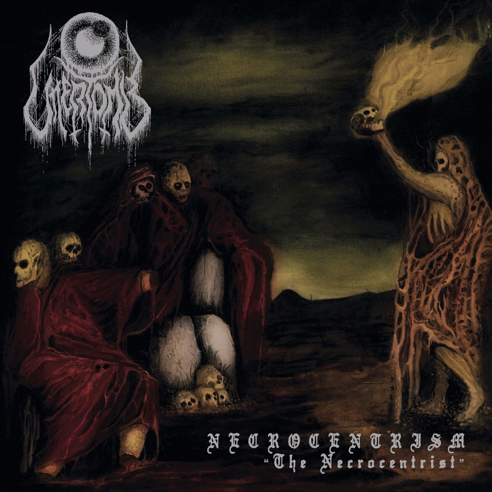 "UTTERTOMB ""Necrocentrism: The Necrocentrist"" Mini CD"