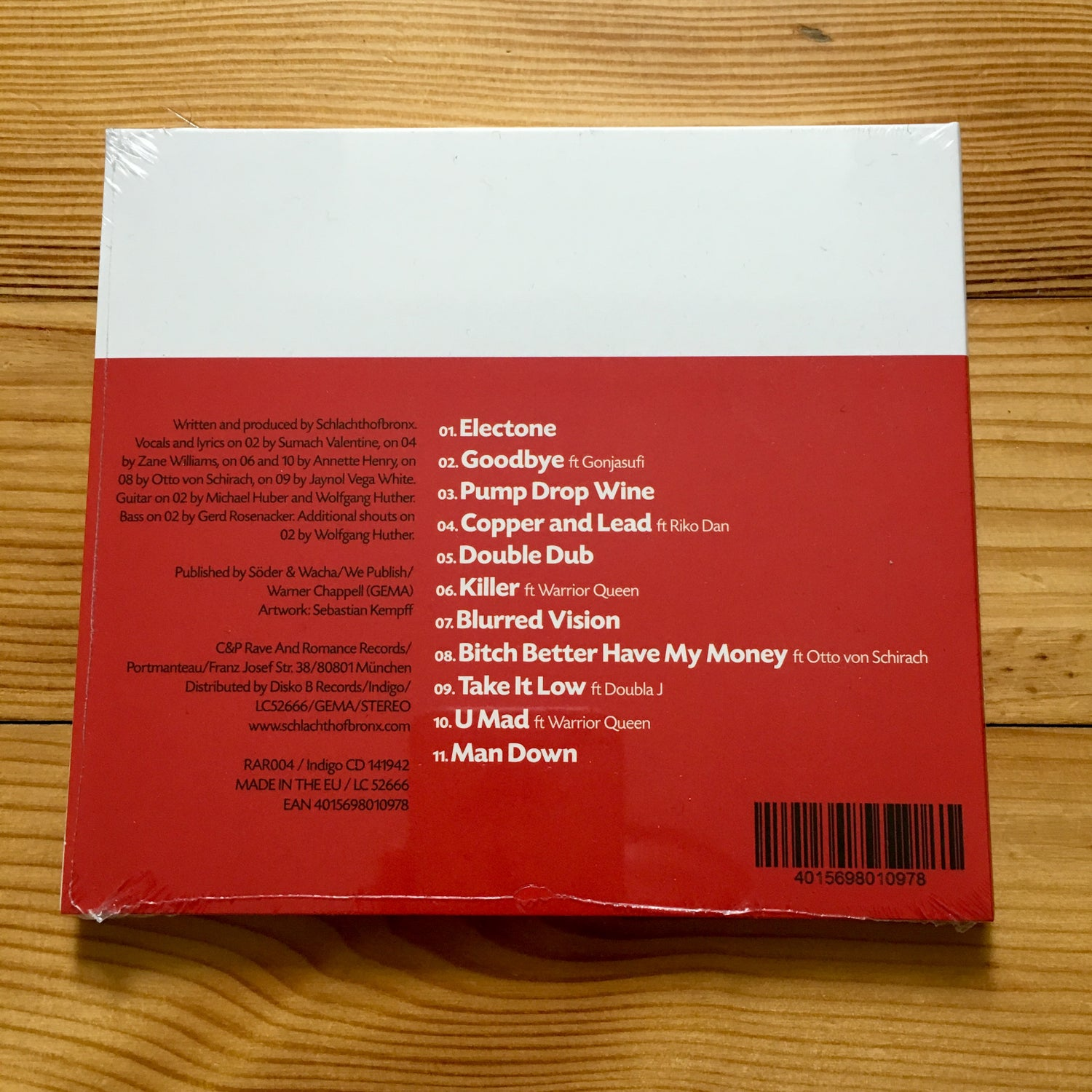 Image of Haul & Pull Up - Album CD