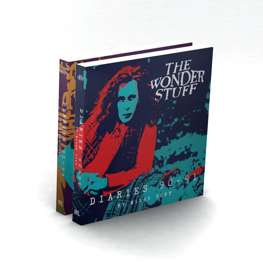 Image of The Wonder Stuff Diaries '90 - '91 & The Wonder Stuff Diaries '92 - '94