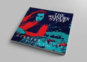 Image of The Wonder Stuff Diaries '90-'91 & Never Loved Elvis Demo CD