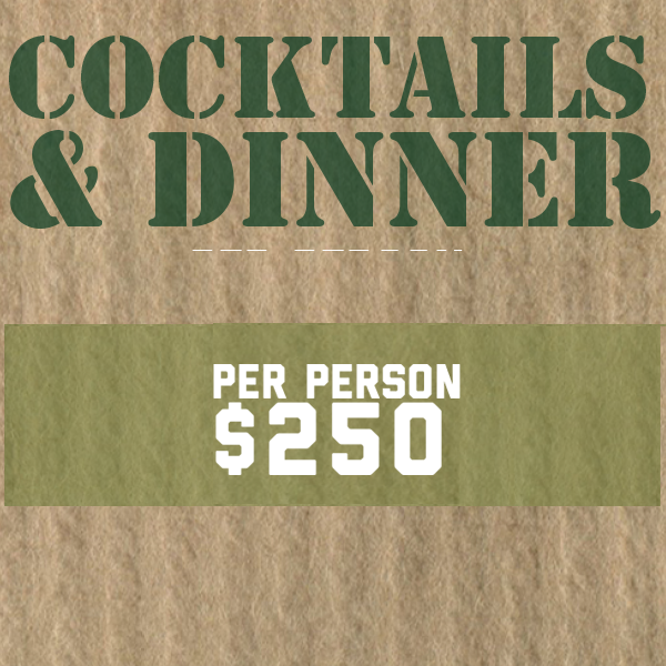 Image of Cocktails & Dinner