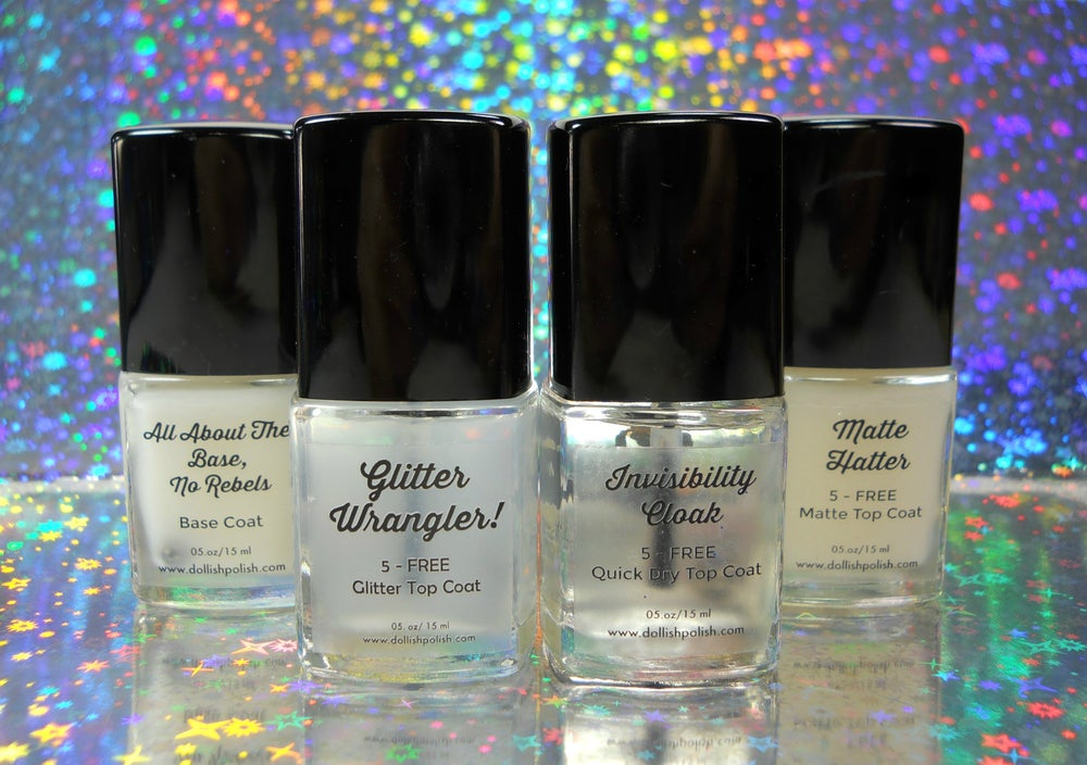 Image of Glitter Wrangler! - Dollish Polish Glitter Top Coat