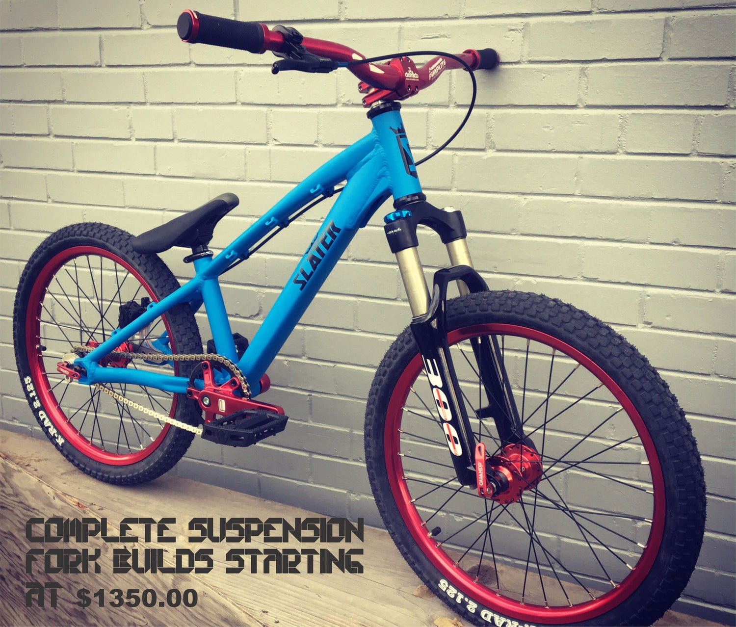 Image of SLATER BIKES KIDS / YOUTH 16/18/20 Gateway Mountain Bike Frame