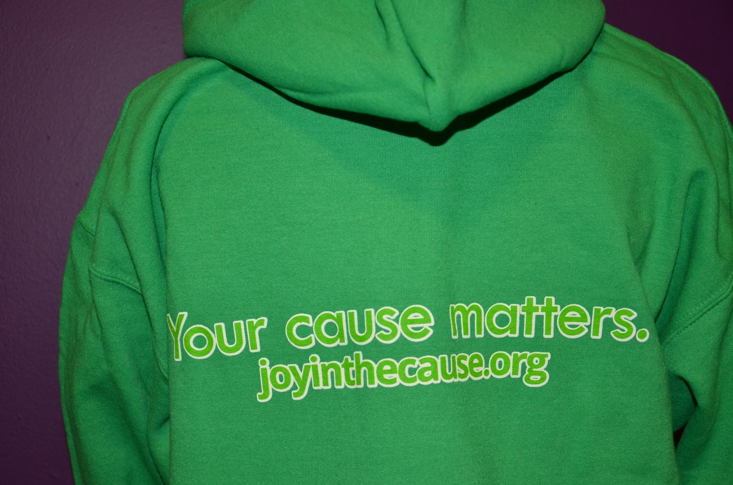 Image of Joy In The Cause Hoodie IRISH GREEN
