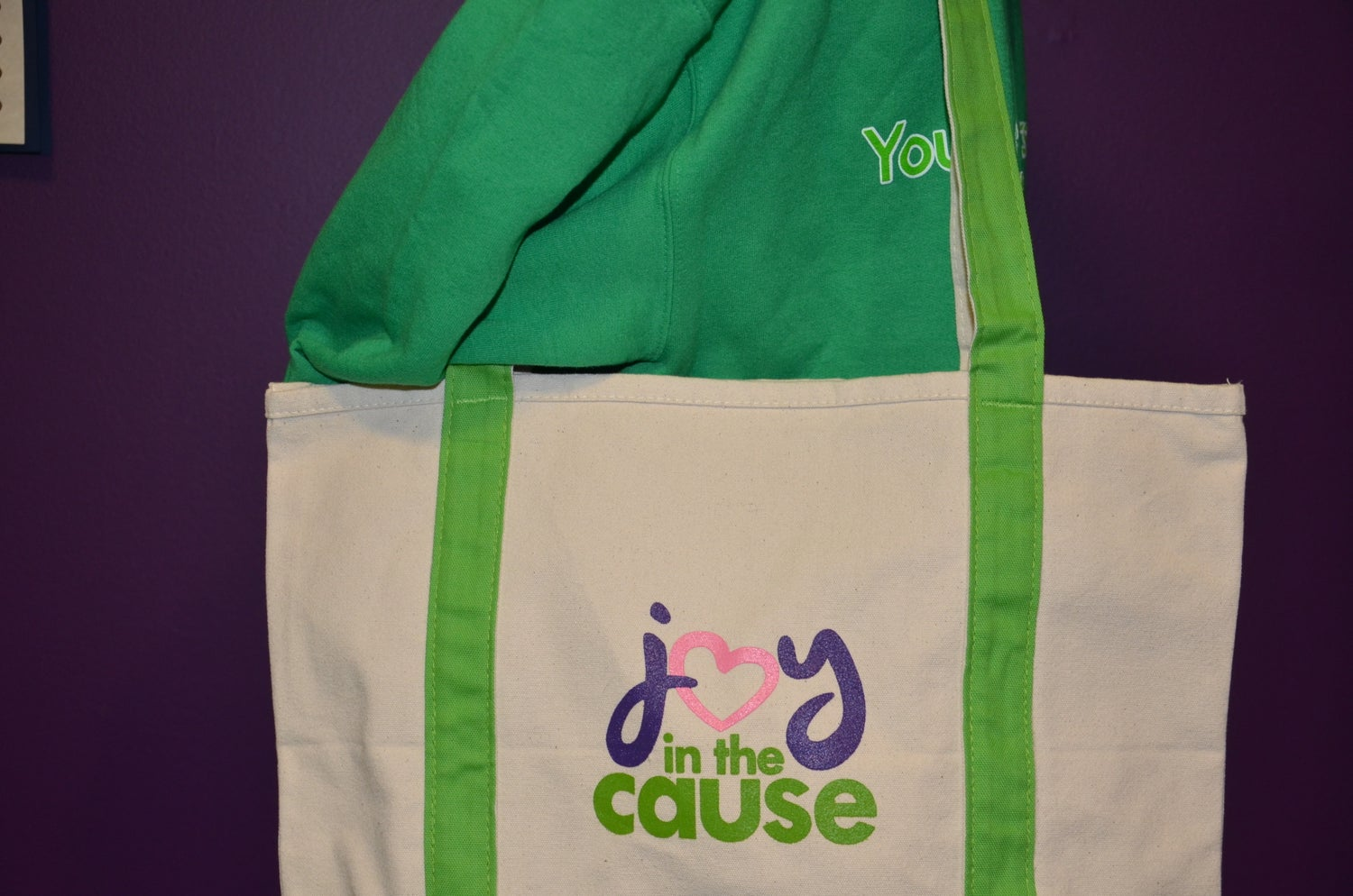Image of Joy In The Cause Tote Bag