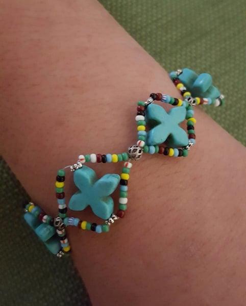Image of Magnasite Cross bracelet